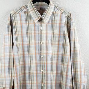 Joseph Abbound | Men's Plaid Shirt Size Large